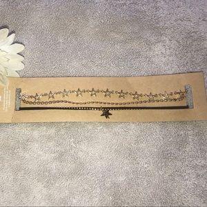 Beautiful 3 piece Choker necklace